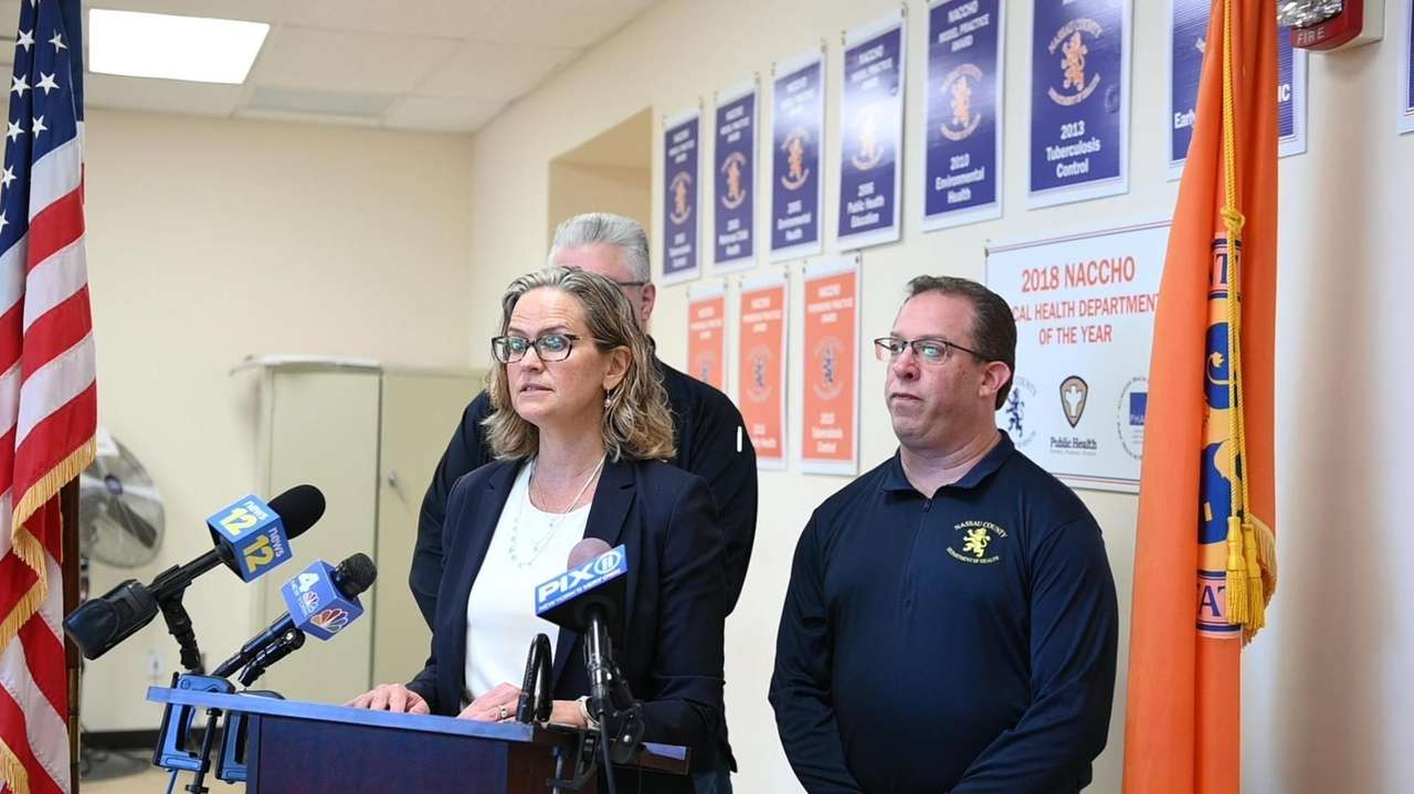 Nassau County Executive, Laura Curran, with an update