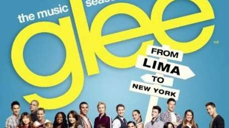 The album cover for 'Glee: The Music,' Season