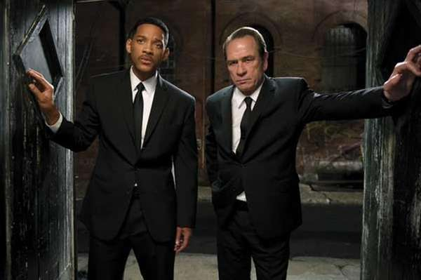 Tommy Lee Jones, right, and Will Smith star