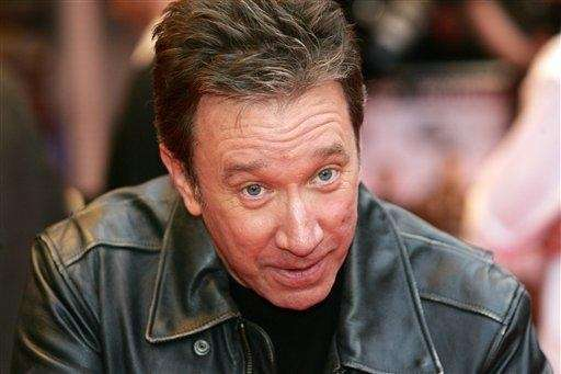 Tim Allen arrives at a cinema in London