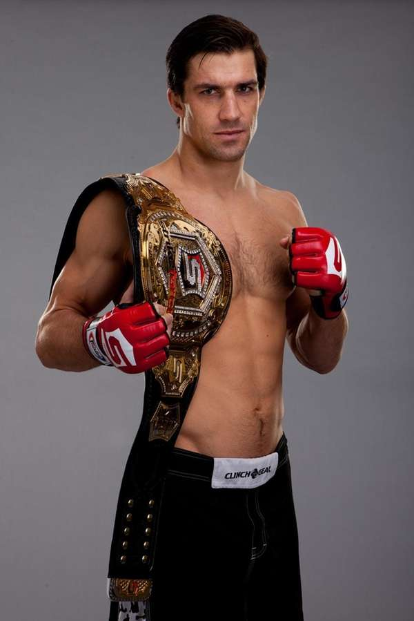Strikeforce middleweight champion Luke Rockhold.