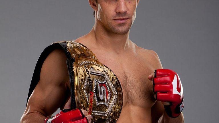 Strikeforce middleweight champion Luke Rockhold.