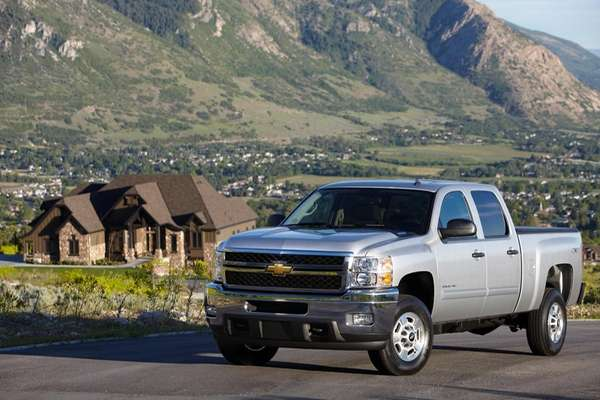The 2013 Chevrolet Silverado 2500 HD LT Crew