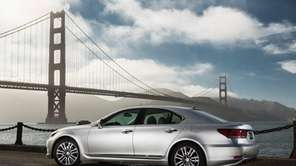 The new 2013 Lexus LS offers state-of-the art