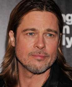 Actor Brad Pitt attends The Cinema Society with