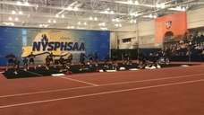 Watch Mt. Sinai's routine in the state cheerleading