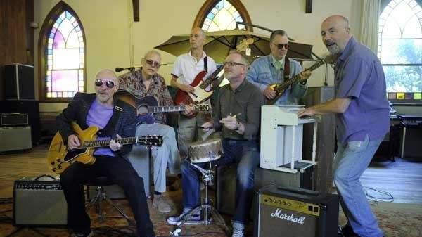 Graham Parker, left, and the Rumour.