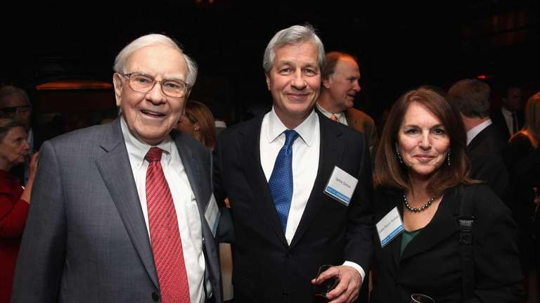 Berkshire Hathaway CEO Warren Buffett, in New York