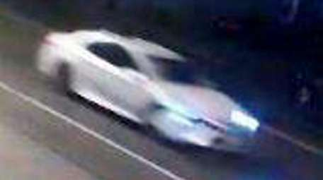 Nassau County police are looking for the driver