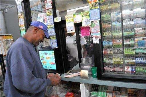 Red Datts buys Powerball tickets in Savannah, Ga.