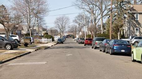 Residents on Oakland Court in North Bellmore say