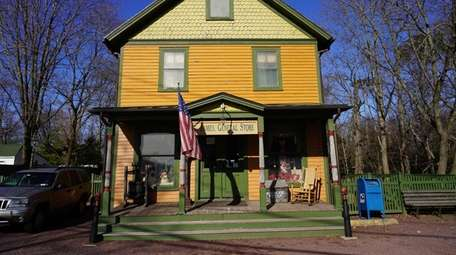 The 160-year-old St. James General Store, run by