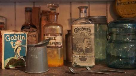 A display at the St. James General Store.
