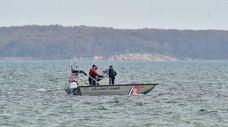 The U.S. Coast Guard and local police patrolled