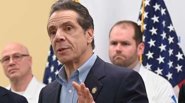 Gov. Andrew M. Cuomo, shown on March 8,