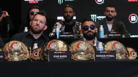 Bellator MMA two-weight champions Ryan Bader and Patricio