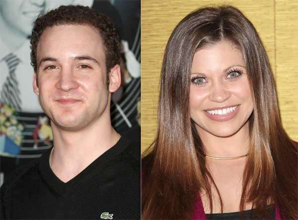 Ben Savage, left, and Danielle Fishel.