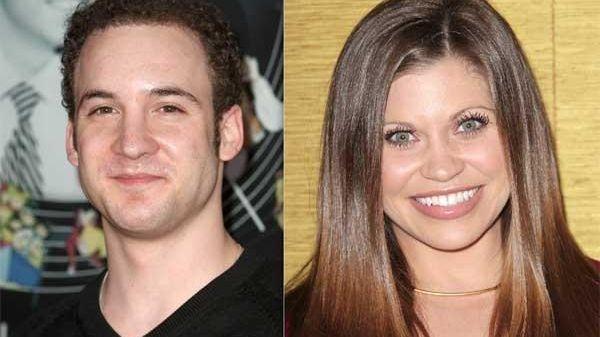 Ben Savage, left, and Danielle Fishel.