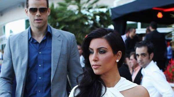 Brooklyn Nets forward Kris Humphries and estranged wife