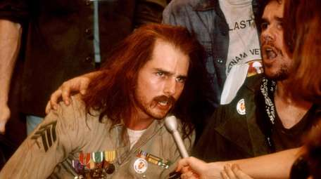 Tom Cruise as Ron Kovic in Oliver Stone/Universal