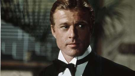 Robert Redford as Jay Gatsby in Paramount Pictures'
