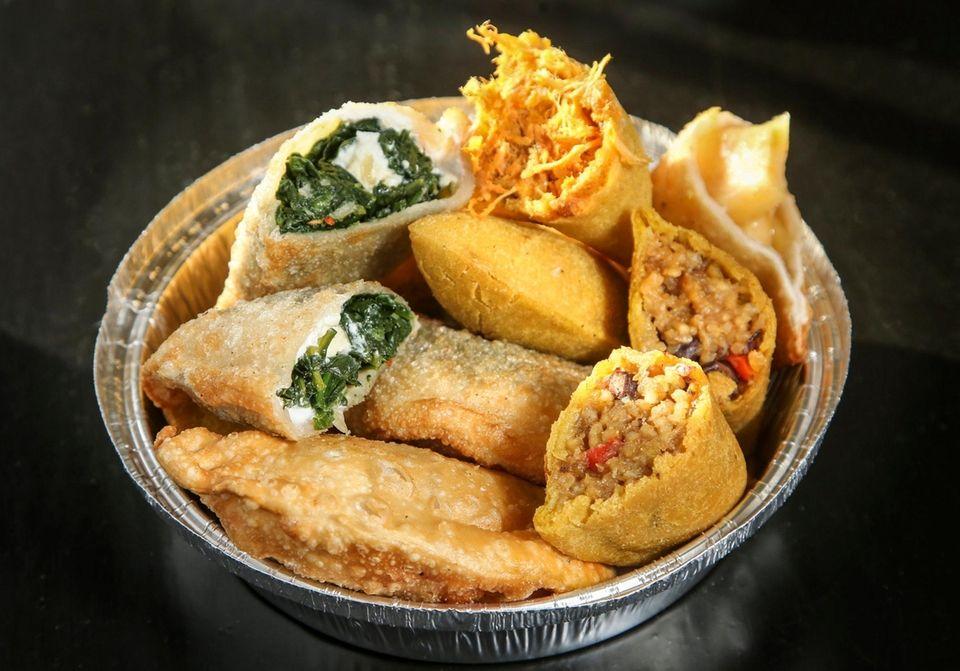 An assortment of empanadas from Empanadas and More,