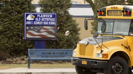 The Plainview-Old Bethpage Central School District canceled classes