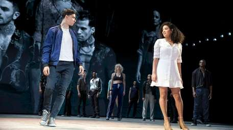 """Isaac Powell and Shereen Pimentel in """"West Side"""