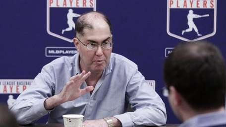Michael Weiner, executive director of the MLB Players'