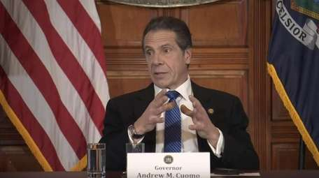 Gov. Andrew M. Cuomo gives an update from