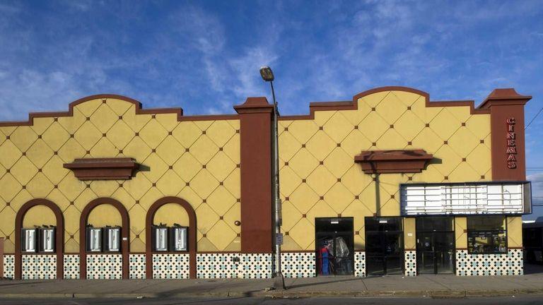 Long Beach Cinemas, a key part of downtown