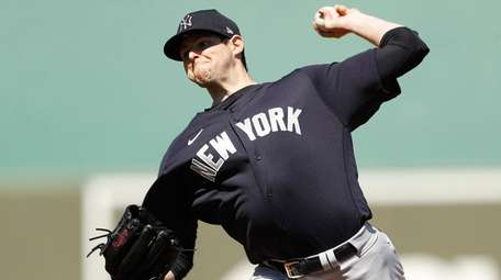 Jordan Montgomery of the Yankees delivers a pitch