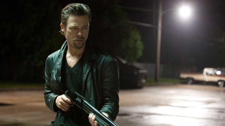 Brad Pitt in a scene from