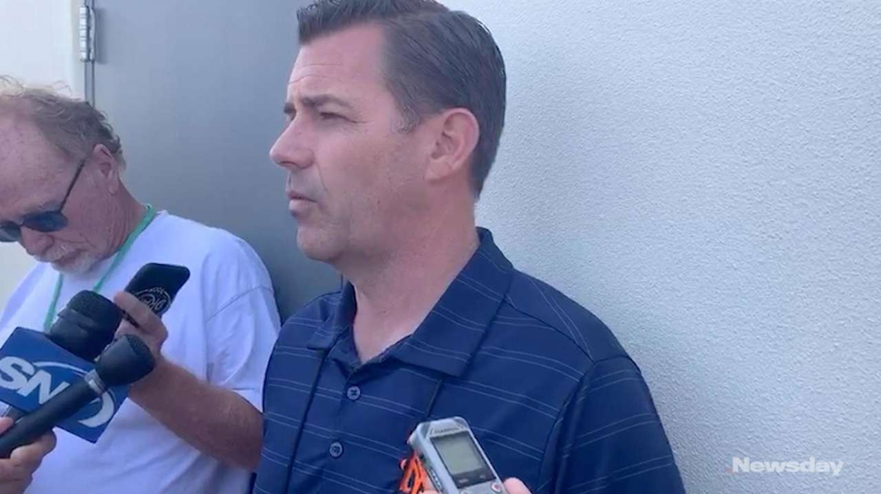 Mets general managerBrodie Van Wagenen on Tuesday provided