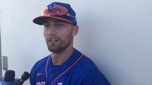 Mets outfielder Brandon Nimmo on Tuesday discussed how the