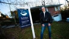 Rick Hamberger, 57, who recently moved into a
