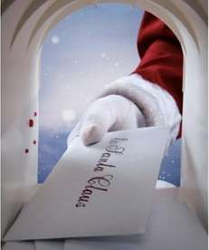 Create a personalized DVD featuring Santa Claus on