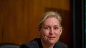 U.S. Sen. Kirsten Gillibrand choked up Thursday as