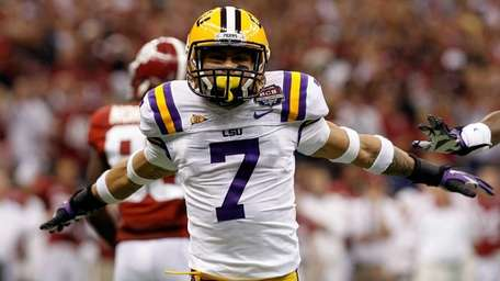 Tyrann Mathieu, the LSU player who was suspended