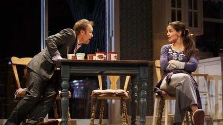 Nobert Leo Butz as Jack, left, and Katie