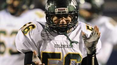 William Floyd's Alex Walter is seen during his