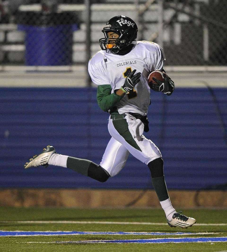 William Floyd's Vantrell Nash looks back as he