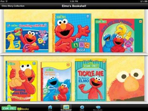 The Elmo Story Collection iPad app is available