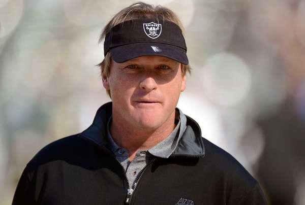 Former head coach of the Oakland Raiders Jon