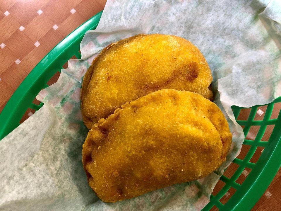 At Sabor Latino in Bay Shore, empanadas wrappers