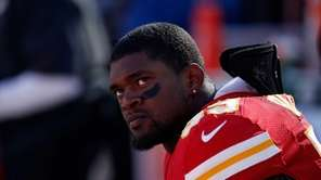 Inside linebacker Jovan Belcher of the Kansas City