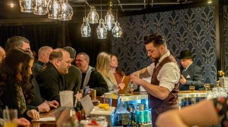 At Farmingdale's Charlotte's Speakeasy, guests must speak the