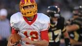 Chaminade quarterback Sean Cerrone runs for a touchdown