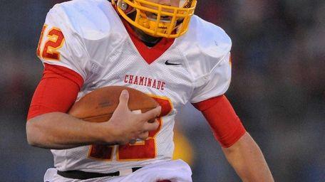 Chaminade quarterback Sean Cerrone runs for a touchdown
