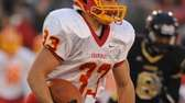 Chaminade running back Rob Speranza rushes for a